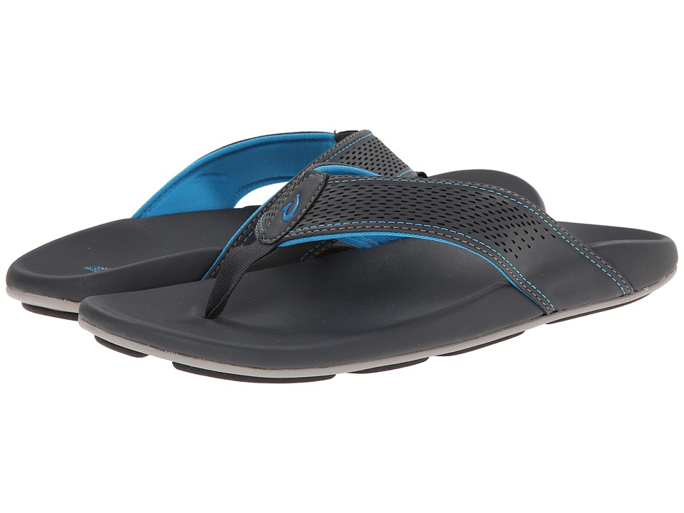 OluKai - Kekoa (Dark Shadow/Scuba) Men's Sandals