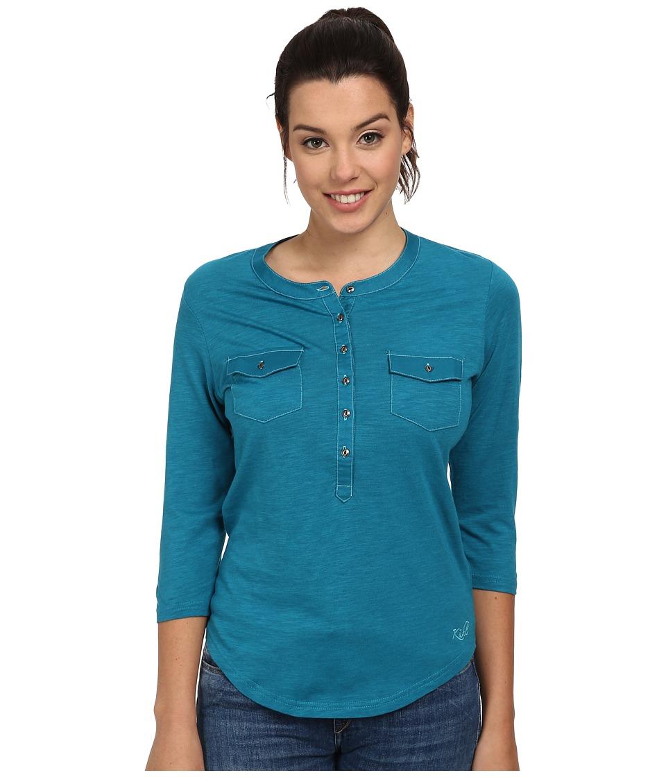 KUHL - Khloe (Marine) Women's Long Sleeve Pullover