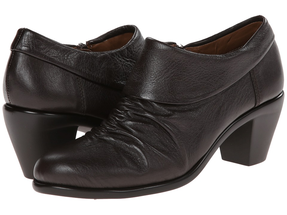Aerosoles - Lock N Key (Dark Brown Leather) High Heels