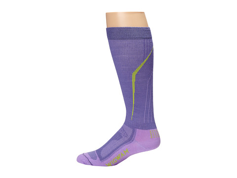 Wigwam - Snow Amped Pro (Blue Violet) Crew Cut Socks Shoes