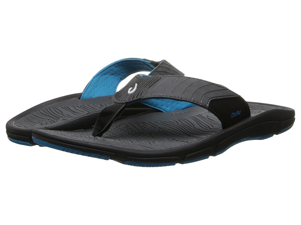 OluKai - Kai Ko (Black/Scuba) Men's Sandals