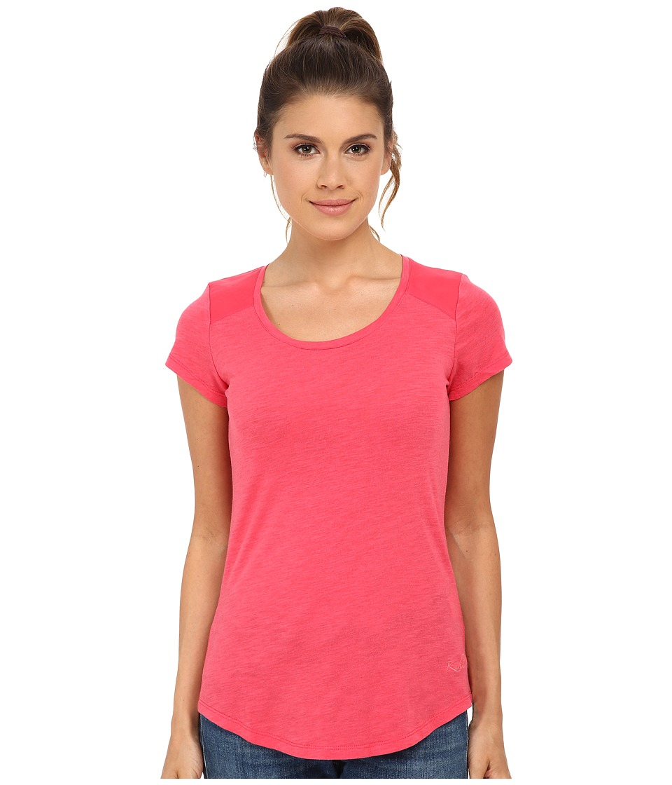 Kuhl - Khloe S/S Top (Watermelon) Women's Short Sleeve Pullover