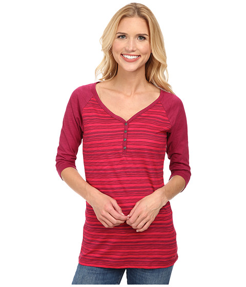 Kuhl - Laura Three-Quarter Top (Vino) Women's Short Sleeve Pullover