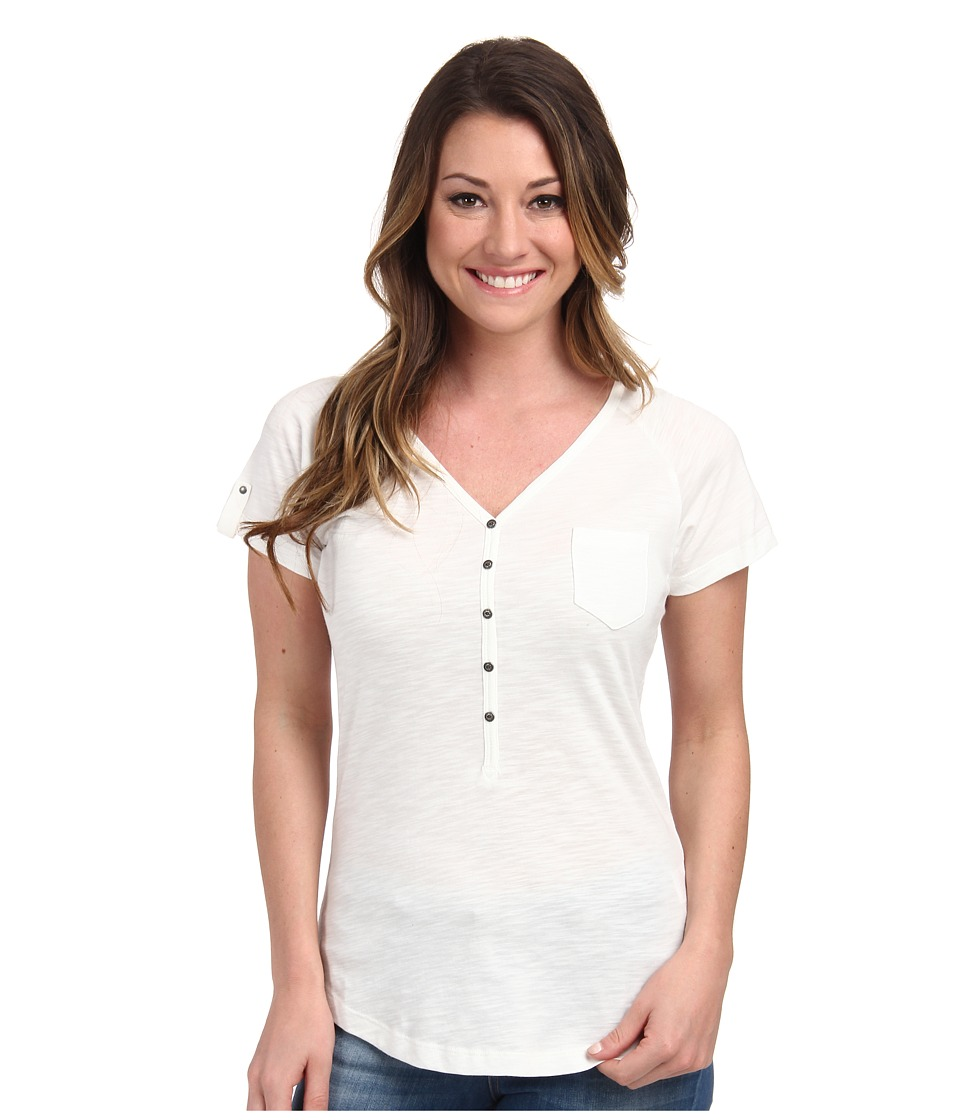 KUHL - Bella S/S Top (White) Women's Short Sleeve Pullover