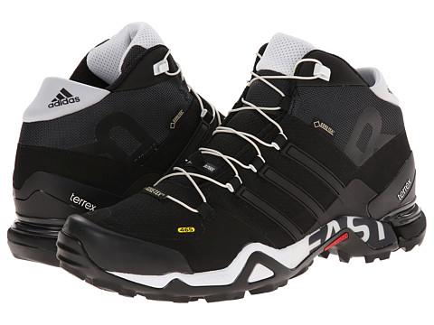 adidas Outdoor - Terrex Fast R Mid GTX (White/Black/ Vista Grey) Men's Hiking Boots