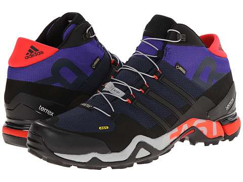 adidas Outdoor - Terrex Fast R Mid GTX (Col. Navy/Black/Clear Onix) Men