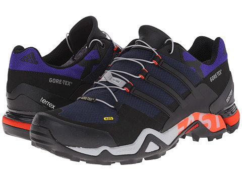 adidas Outdoor - Terrex Fast R GTX (Col. Navy/Black/Clear Onix) Men's Shoes