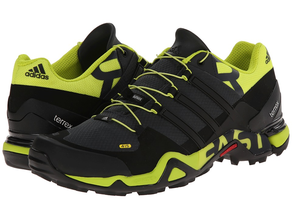 adidas Outdoor - Terrex Fast R (Vista Grey/Black/Semi Solar Yellow) Men's Shoes