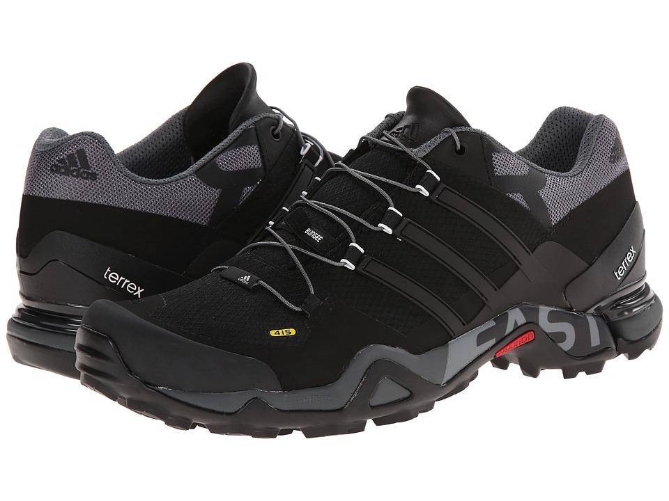adidas Outdoor - Terrex Fast R (Black/Vista Grey/White) Men's Shoes