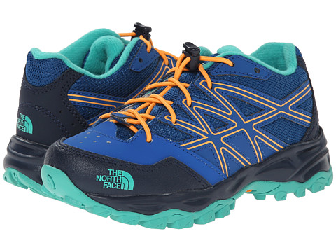 The North Face Kids - Hedgehog Hike (Toddler/Little Kid/Big Kid) (Snorkle Blue/Vitamin C Orange) Boys Shoes
