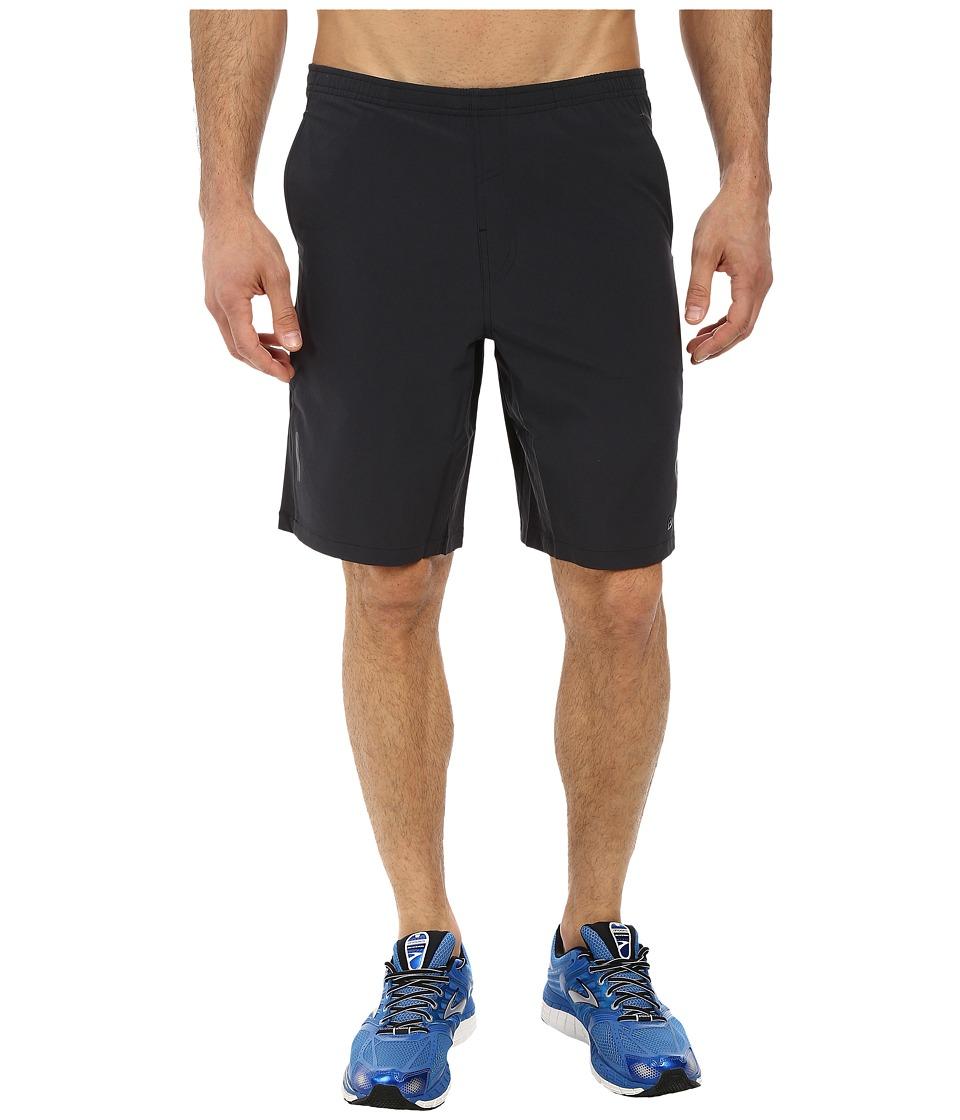 Brooks - PureProject 10 Short (Heather Black) Men's Shorts