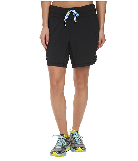 Brooks - Run 7 Short (Black) Women