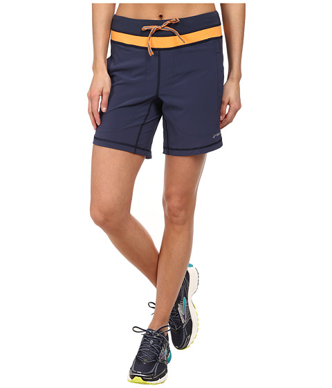 Brooks - Run 7 Short (Midnight/Creamsicle) Women's Shorts