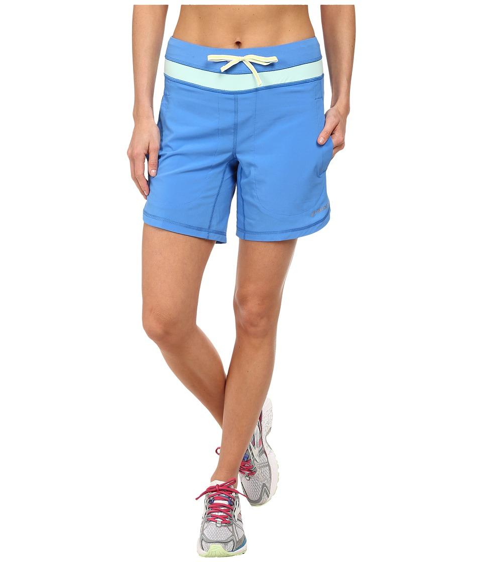 Brooks - Run 7 Short (Cornflower/Glass) Women's Shorts