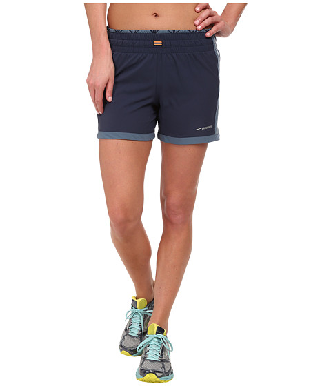 Brooks - Versatile 5 Short II (Midnight/Storm) Women