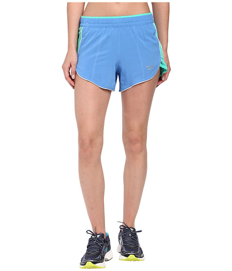 Brooks - Epiphany 3.5 Stretch Short 3 (Cornflower/Lagoon) Women's Shorts