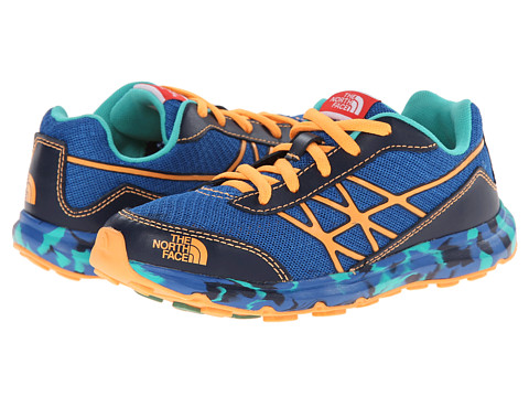 The North Face Kids - Ultra (Little Kid/Big Kid) (Snorkel Blue/Vitamin C Orange) Boy's Shoes