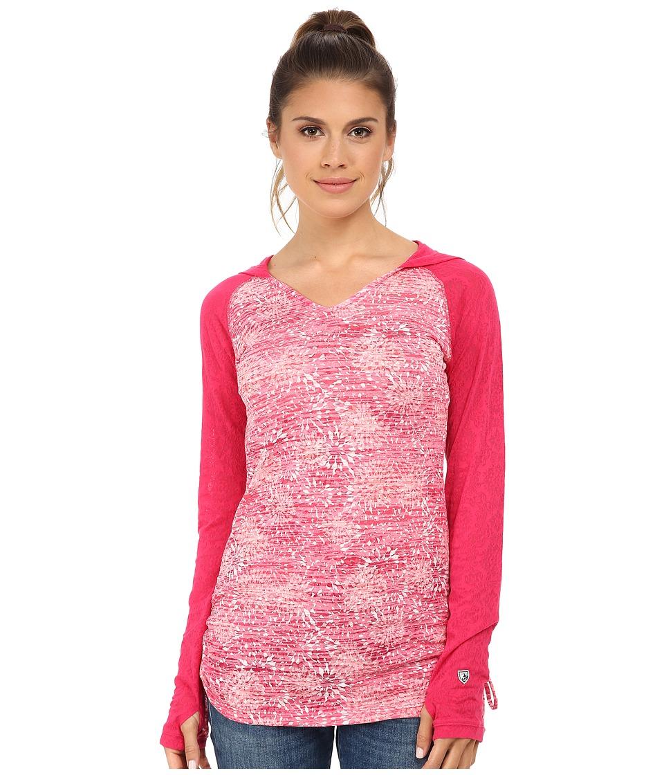 Kuhl - Destini Hoodie (Fuchsia) Women's Sweatshirt