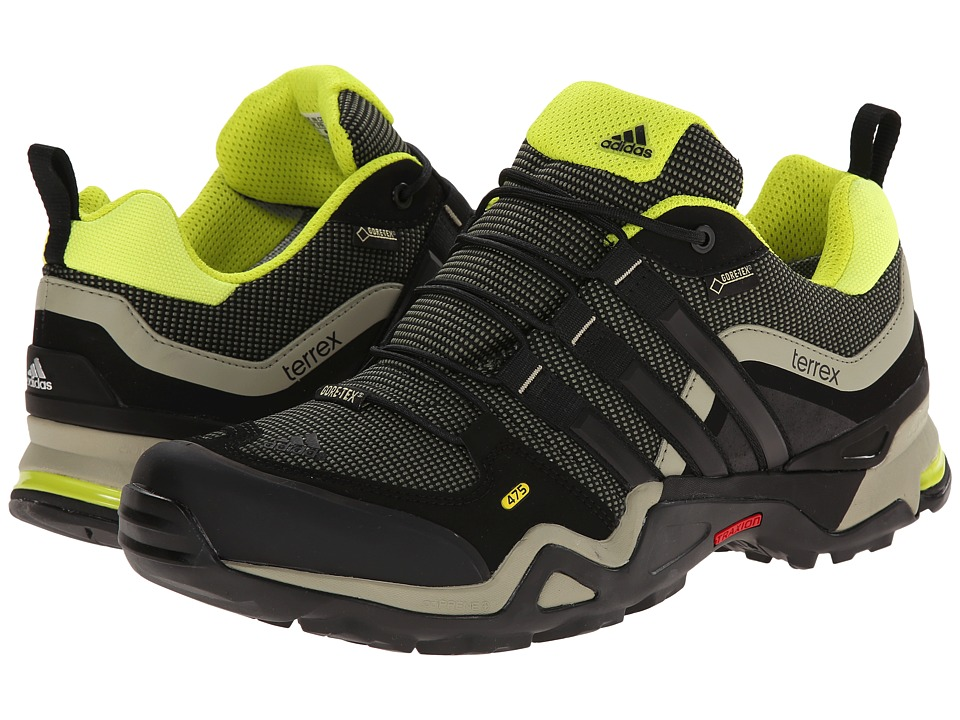 adidas Outdoor - Terrex Fast X GTX (Base Green/Black/Semi Solar Yellow) Men's Shoes