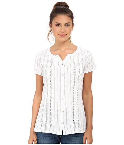 Kuhl - Naomi (White) Women's Short Sleeve Pullover
