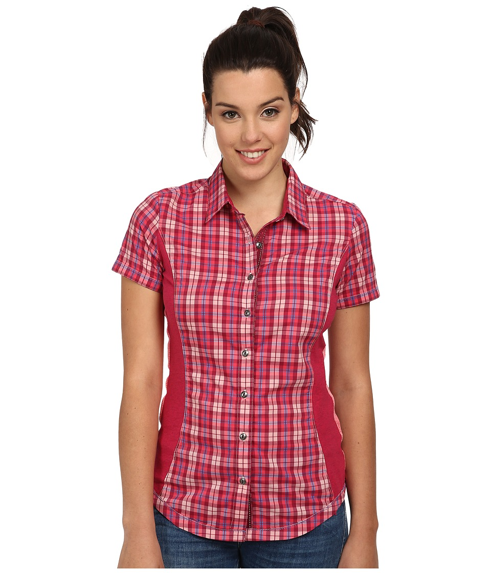 Kuhl - Suono S/S Shirt (Watermelon) Women's Short Sleeve Button Up