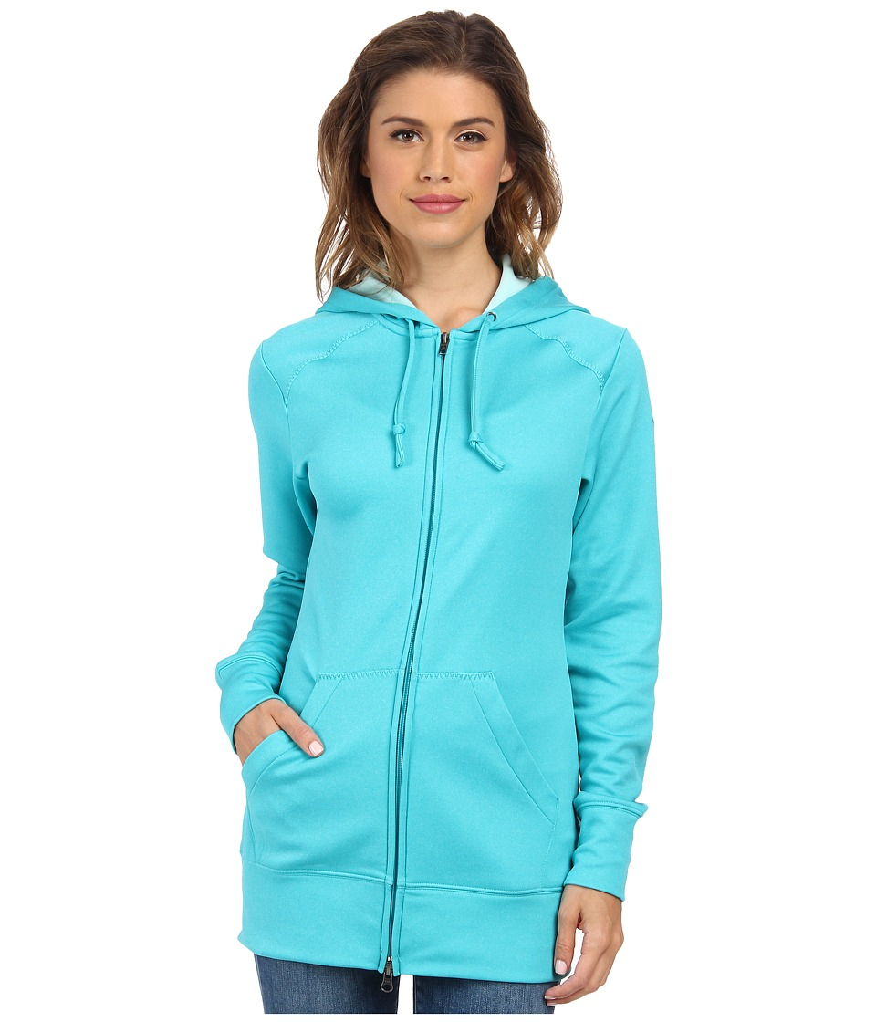 Columbia - Rapid Ridge Full-Zip Hoodie (Geyser Heather) Women's Sweatshirt