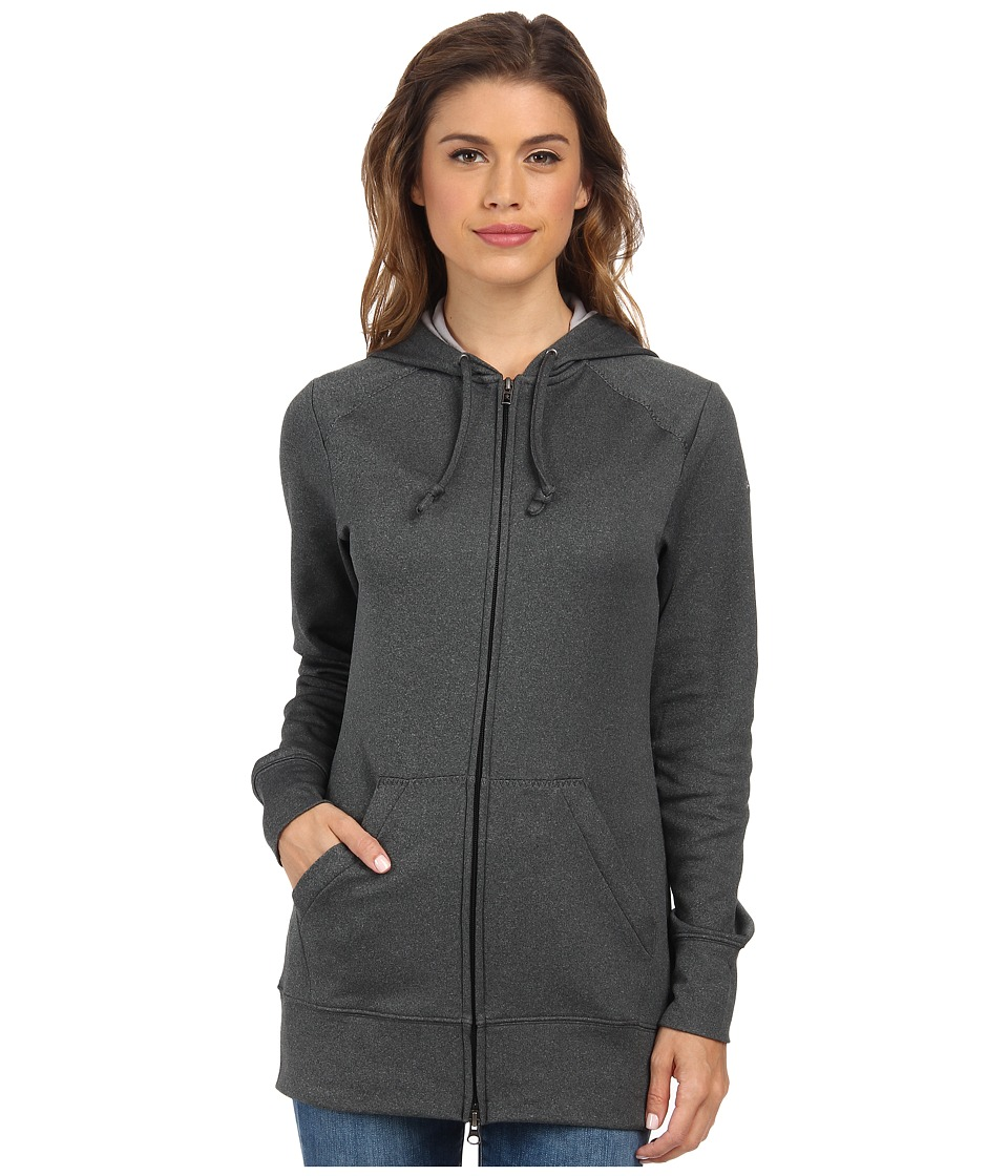 Columbia - Rapid Ridge Full-Zip Hoodie (Black Heather) Women