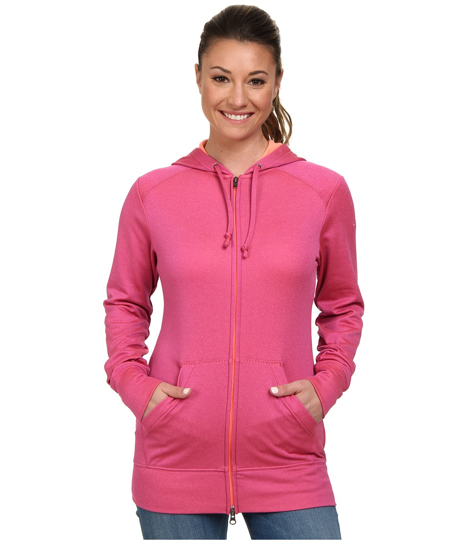 Columbia - Rapid Ridge Full-Zip Hoodie (Foxglove Heather) Women