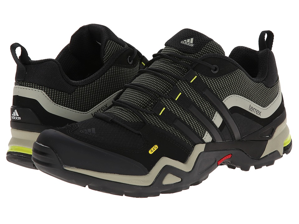 adidas Outdoor - Terrex Fast X (Base Green/Black/Semi Solar Yellow) Men's Shoes