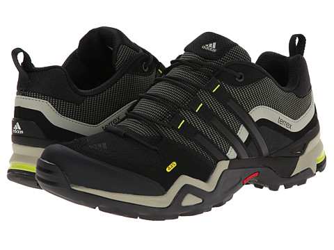 adidas Outdoor - Terrex Fast X (Base Green/Black/Semi Solar Yellow) Men's Shoes