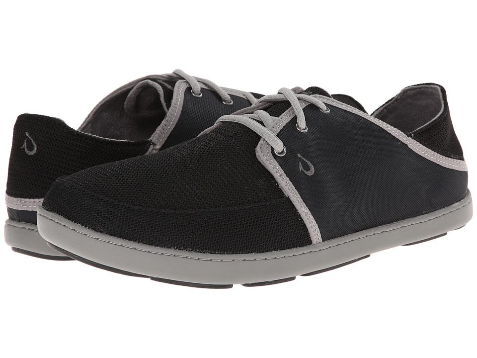 Olukai Nohea Lace Mesh Leather Shoes