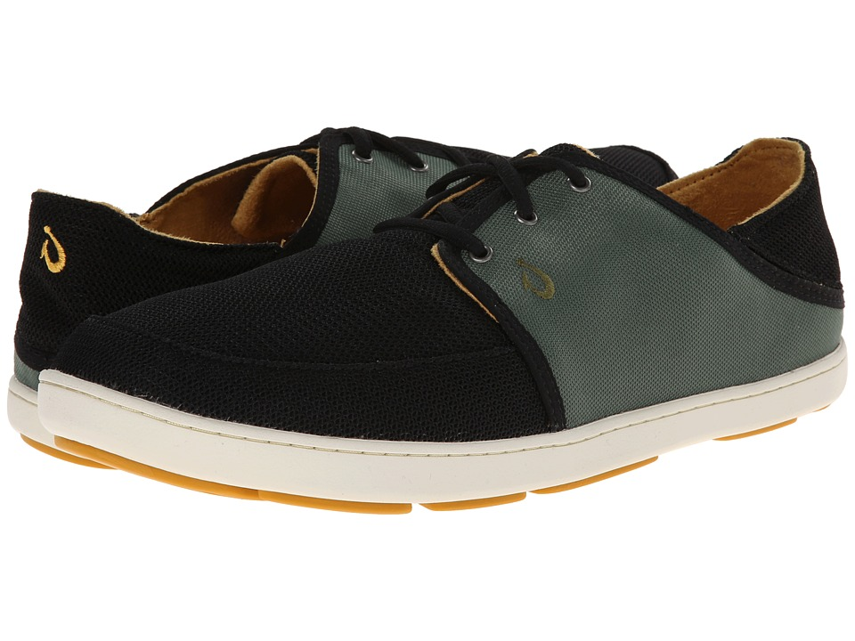 UPC 883956165401 product image for OluKai - Nohea Lace Mesh (Black/Palm)  Men's ...