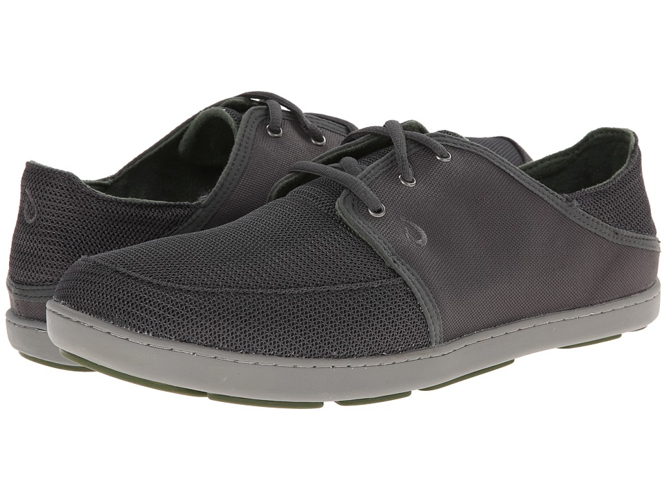 OluKai Nohea Lace Mesh (Dark Shadow/Dark Shadow) Men