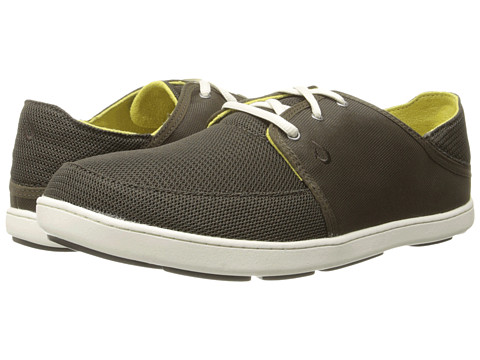 OluKai - Nohea Lace Mesh (Seal Brown/Seal Brown) Men's Shoes