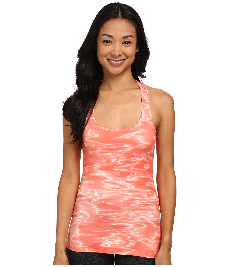 Columbia - Trail Fiesta Tank Top (Coral Flame Print) Women's Sleeveless