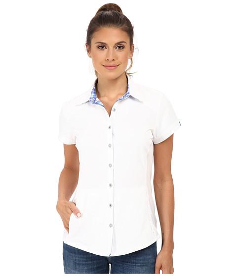Kuhl - Wunderer S/S Shirt (White/Cornflower) Women