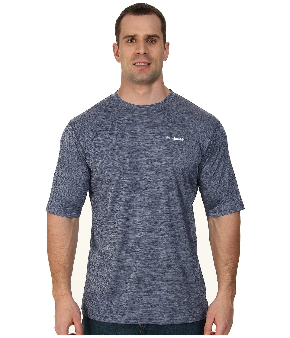 Columbia - Zero Rules S/S Shirt - Big (Carbon Heather) Men's Short Sleeve Pullover