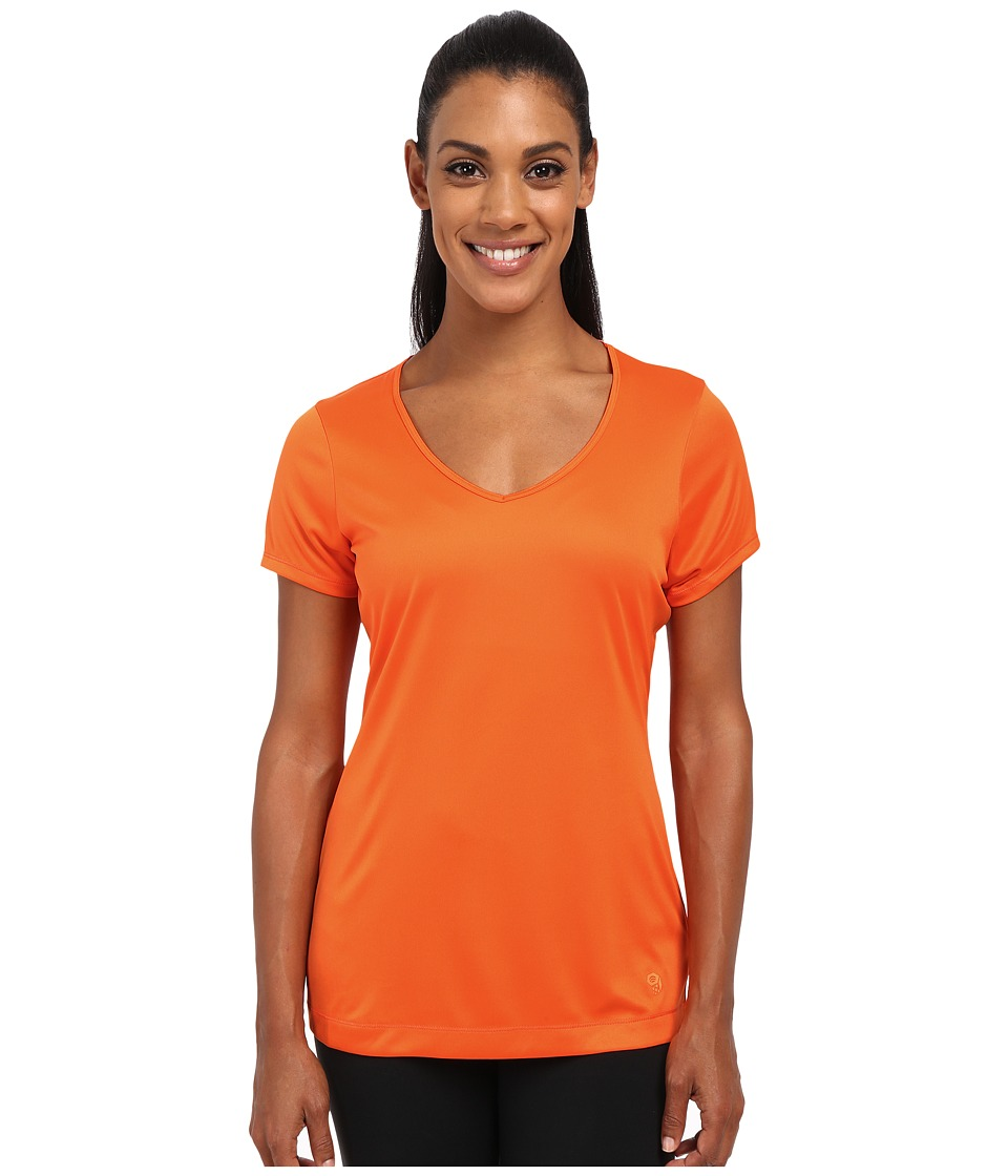 Mountain Hardwear - Wicked Short Sleeve Tee (Navel Orange) Women's T Shirt