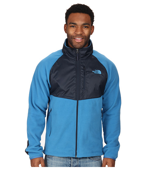 The North Face - McEllison Jacket (Heron Blue/Outer Space Blue) Men's Jacket