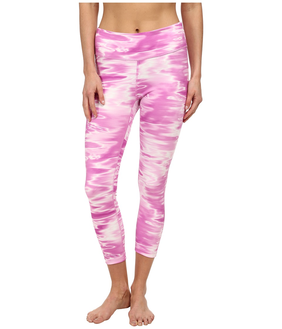 Columbia - Trail Bound Capri Tight (Foxglove Print) Women's Casual Pants