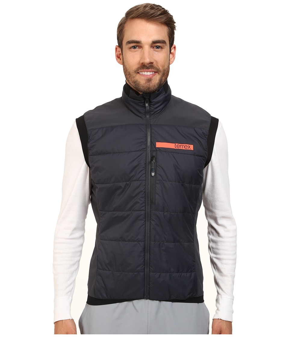 adidas Outdoor - Terrex Skyclimb Insulation Vest 2 (Dark Grey) Men's Vest