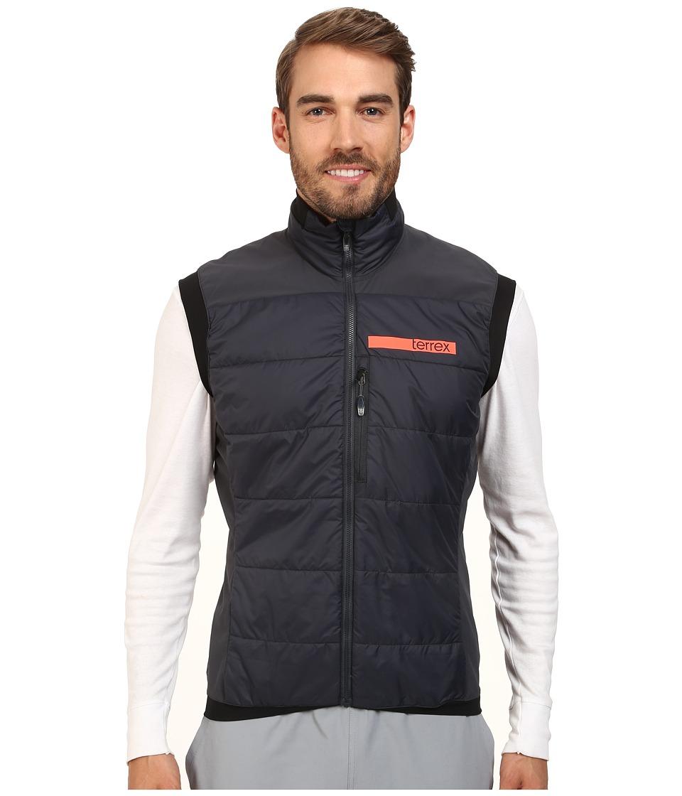 adidas Outdoor - Terrex Skyclimb Insulation Vest 2 (Dark Grey) Men's Vest