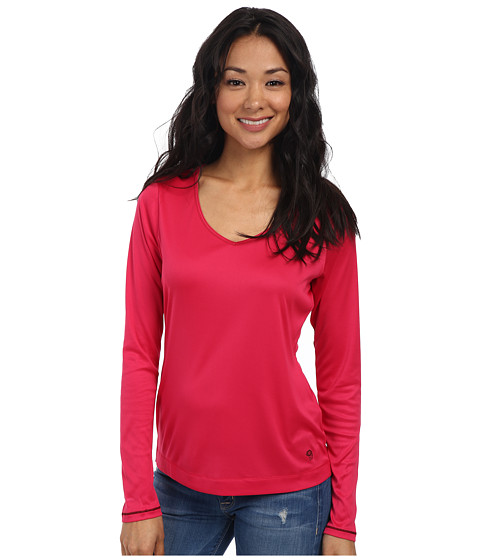 Mountain Hardwear - Wicked Long Sleeve Tee (Bright Rose) Women's Long Sleeve Pullover