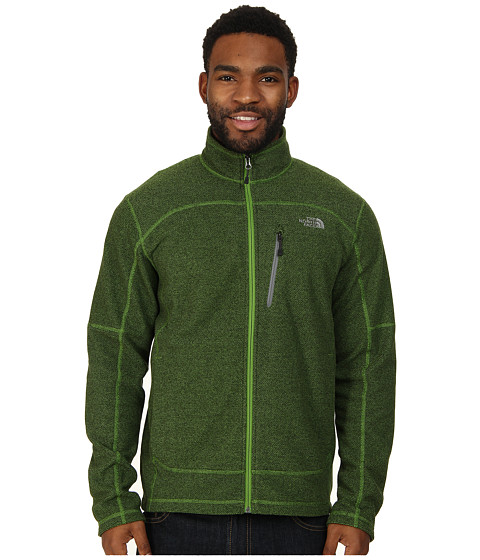 The North Face - Texture Cap Rock (Adder Green) Men's Coat