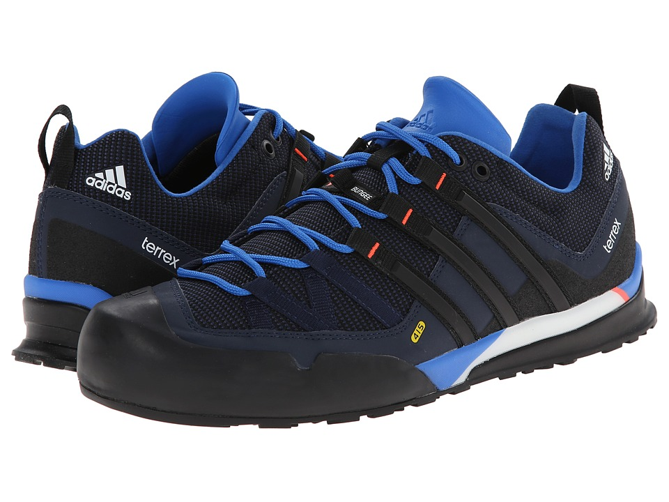 adidas Outdoor - Terrex Solo (Bright Royal/Black/Col. Navy) Men's Climbing Shoes