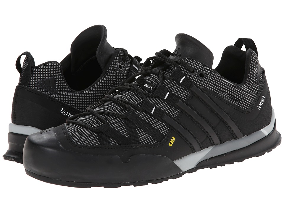 adidas Outdoor - Terrex Solo (Vista Grey/Black/Clear Onix) Men's Climbing Shoes