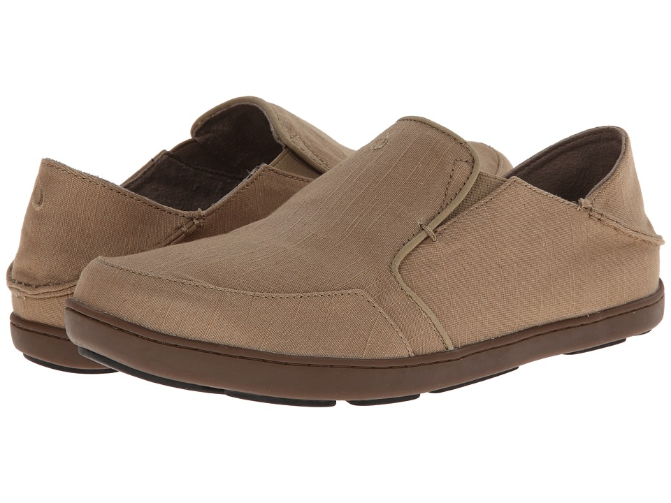 OluKai - Nohea Twill (Khaki/Khaki) Men's Shoes