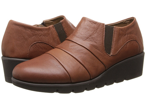 Aerosoles - Wave Catcher (Dark Tan Leather) Women