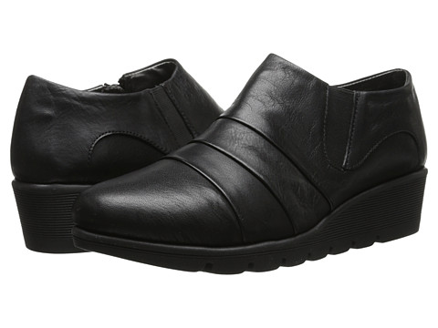 Aerosoles - Wave Catcher (Black Leather) Women's Shoes