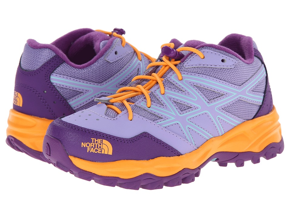 The North Face Kids - Hedgehog Hike (Toddler/Little Kid/Big Kid) (Violet Tulip/Vitamin C Orange) Girls Shoes